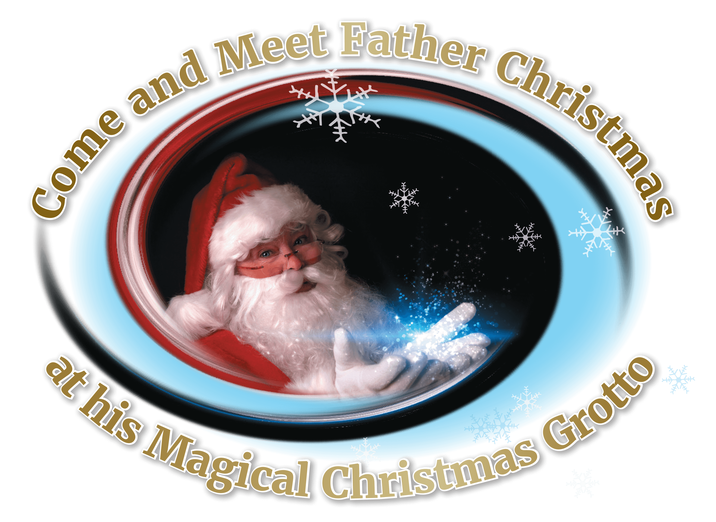 Come and meet Santa at the Christmas Grotto